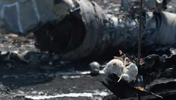 «Боинг» пикирует на Киев