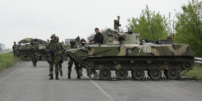 В Винницкой области распродают  БТРы из армейского резерва