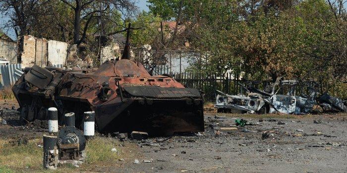 Харьковские партизаны атаковали украинских солдат