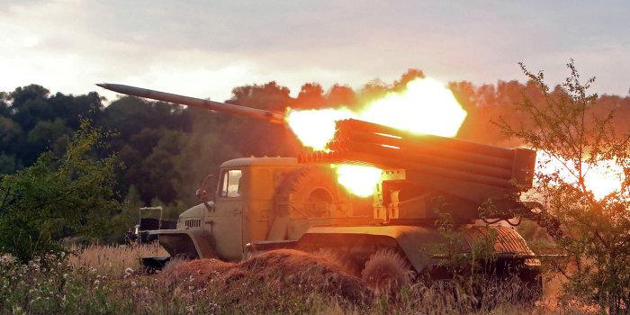 Армия Украины атаковала позиции ополчения под Мариуполем
