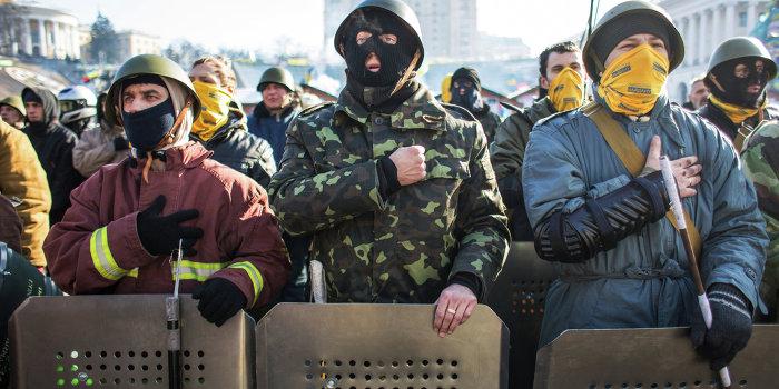 Боевики Евромайдана жестоко избили мирного активиста