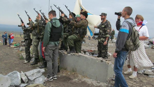 Донбасс отметил 71-ю годовщину освобождения от нацизма