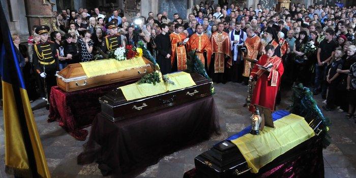 Украина не будет бесплатно хоронить участников «АТО»