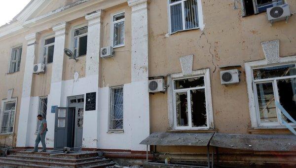 Доктор Лиза: Только в районе Донецка пострадали или были разрушены 32 лечебных учреждения