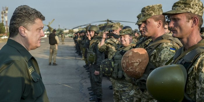 Порошенко планирует воевать на Донбассе до весны 2015 года