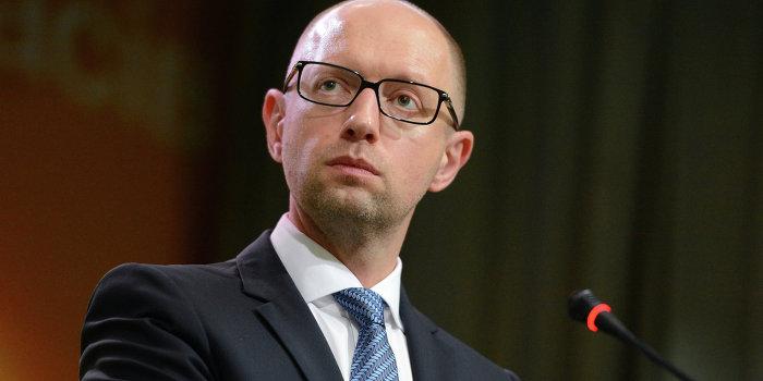 Яценюк: Украина не может существовать без поддержки США и ЕС