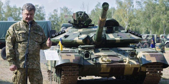 НАТО помогает Украине оружием для войны с ополчением Донбасса
