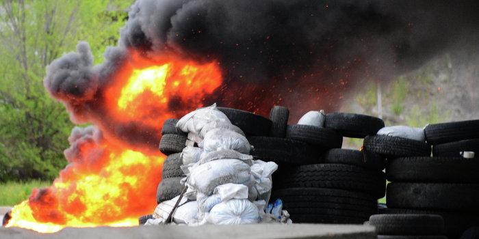 Партизаны в Одессе жгут блокпосты, а в Харькове взрывают цистерны