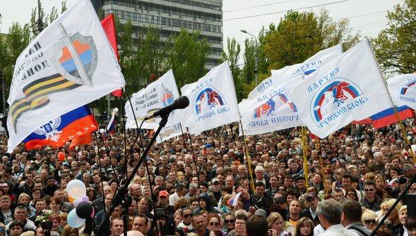 Как Порошенко с Яценюком Донбасс пытаются обмануть