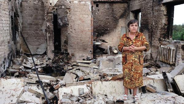 Жительница Луганска: Мой муж в ополчении защищает свой дом