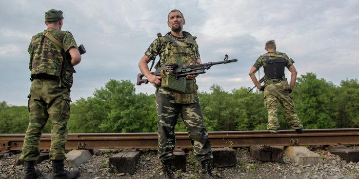 Батальон из Румынии присягнул на верность Новороссии