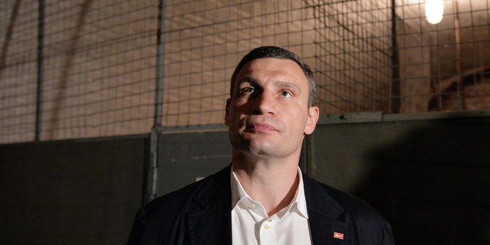 Süddeutsche Zeitung: «Виталий Кличко и таинственная стена»