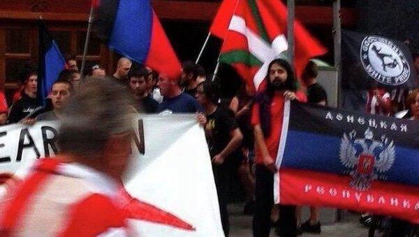 Болельщики «Атлетико» выступили против украинского нацизма