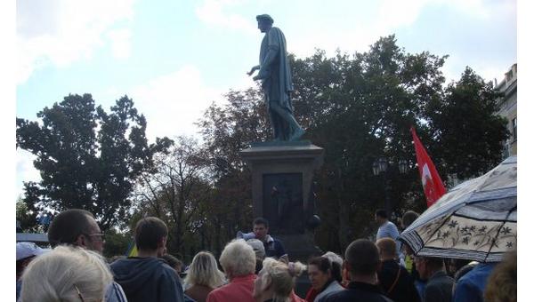В Одессе прошел крупный антивоенный митинг
