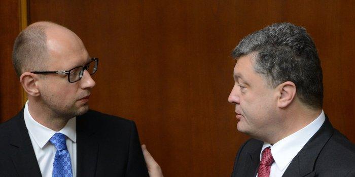 Порошенко и Яценюк готовятся к дефолту?