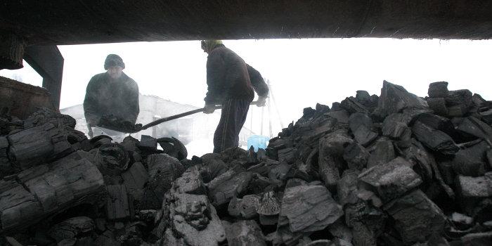 За неделю запасы антрацита на Украине сократились на 12%