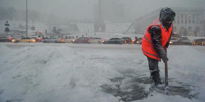 Холод + сто тысяч вооружённых людей