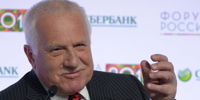 Экс-президент Чехии: Европа откровенно врет про Россию