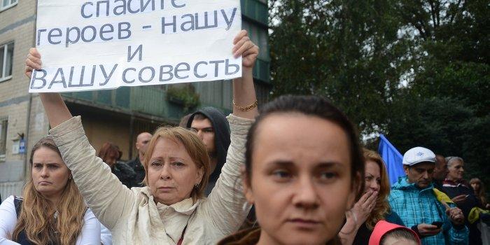 Харьковские партизаны выступили в защиту мирных протестов