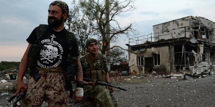 Армия ЛНР нанесла ответный удар по силам карателей в Счастье