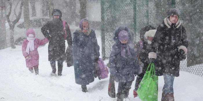 Циклон с именем Порошенко обрушит на Украину новые холода