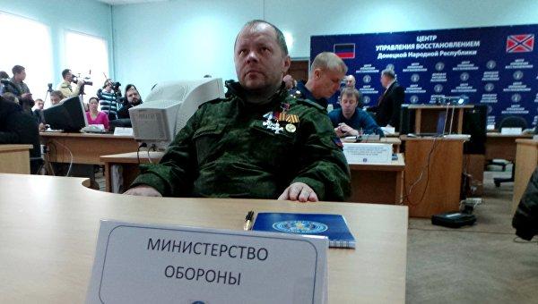 Кононов: Мы дали возможность украинским военным выйти из «дебальцевского котла»