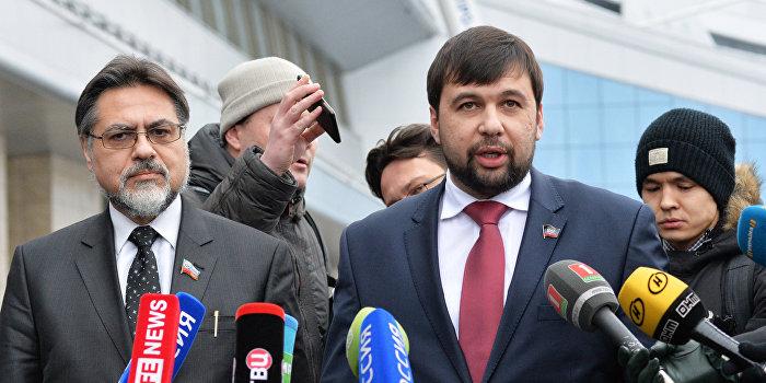 Пушилин: Если Киев не начнет переговоров, придется оттеснять силовиков