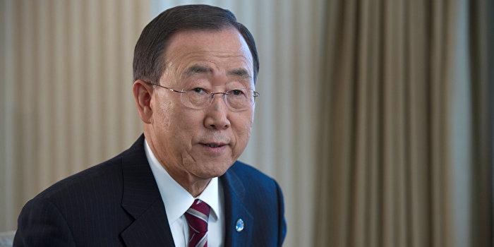 Генсек ООН призвал к временному прекращению огня в Дебальцево