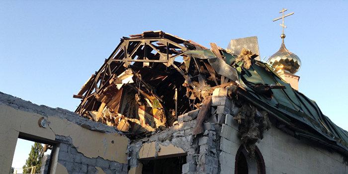В Киеве трижды пытались поджечь храм УПЦ МП