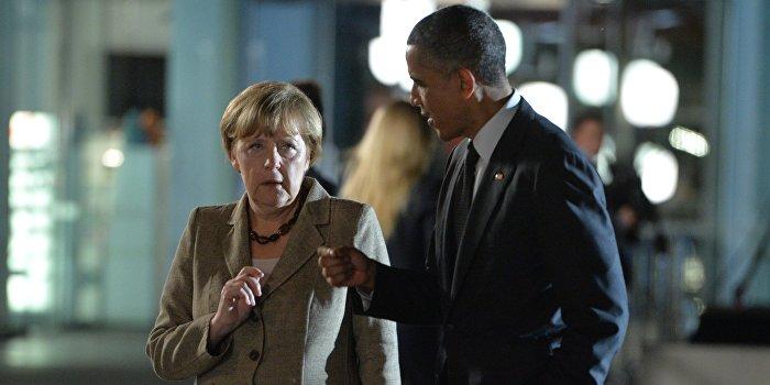 Обама и Меркель разошлись во мнениях по поставкам оружия  на Украину