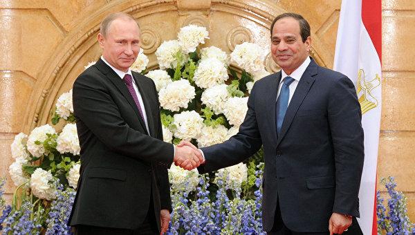 Россия и Египет создадут зону свободной торговли