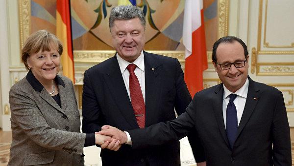 Олланд и Меркель еще не приняли решения о поездке в Минск