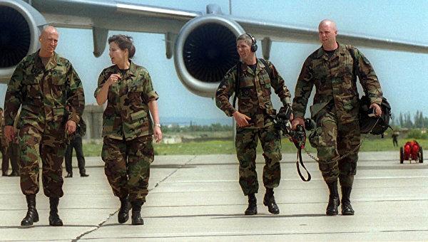 Американские военные инструкторы прибыли на Украину для подготовки бойцов Нацгвардии