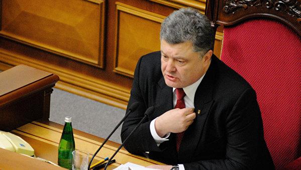 Порошенко: Киев готов ввести военное положение