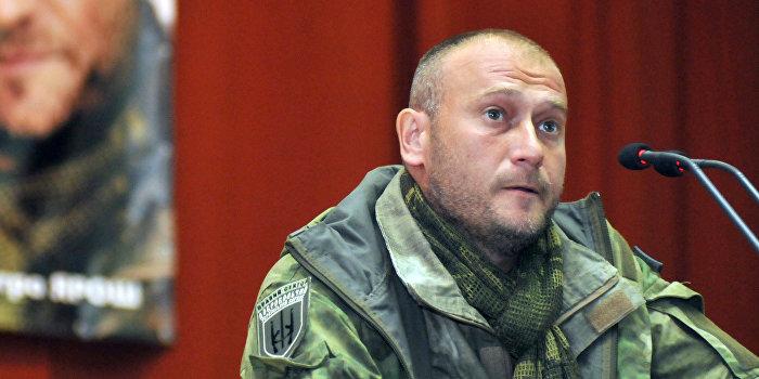Ярош: «Правый сектор» продолжит боевые действия в Донбассе вопреки минским договоренностям
