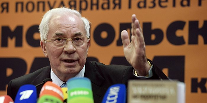 Азаров обратился к украинцам в годовщину своей отставки