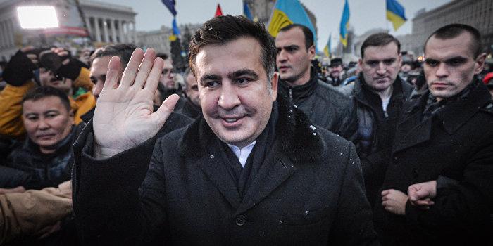 Саакашвили будет курировать поставки оружия на Украину
