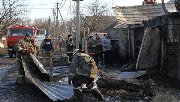 В ДНР в результате обстрелов ВСУ погибли пять мирных жителей