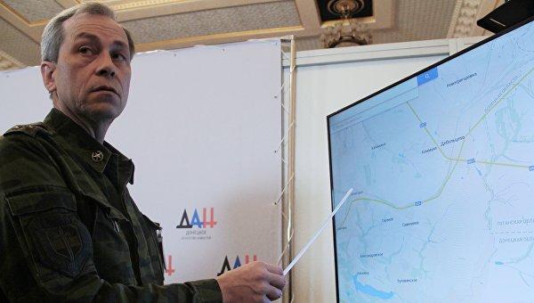 Минобороны ДНР: Киевом в зону «АТО» стянуты РСЗО и самоходная артиллерия