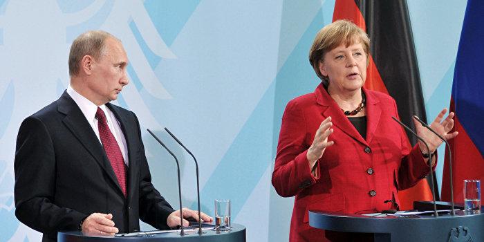 Меркель: Мы хотим создать европейский миропорядок вместе с Россией