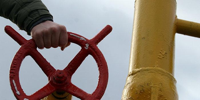 Украина перекрыла подачу газа на территории ДНР и ЛНР