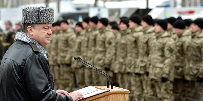 Порошенко теряет контроль над военными