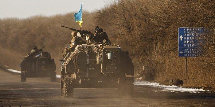 Украинский военный: Уход из Дебальцево был паническим бегством