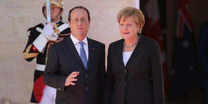 Меркель и Олланд: Страна, нарушившая минские соглашения, столкнётся с санкциями
