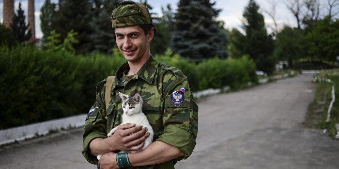 Французы примкнули к ополченцам Донбасса