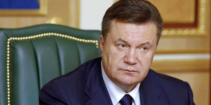 Янукович озвучил план прекращения войны на Украине