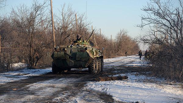 Нацгвардия атаковала силы ополчения под Луганском