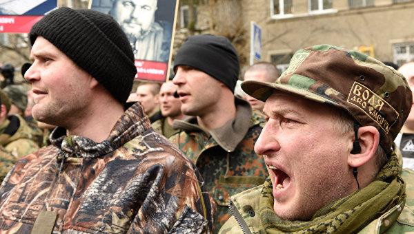 Басурин: Добровольческие батальоны вошли в ВСУ, но cо своим мировоззрением