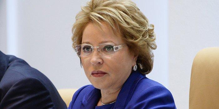 Матвиенко: Киев пытается сорвать минские соглашения, заявляя о вводе миротворцев