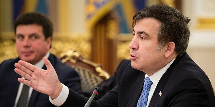 Саакашвили: В США решение о вооружении ВСУ готово на 99%